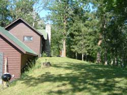 sideview of cabin